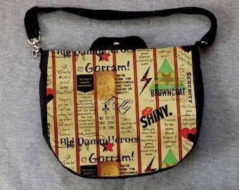 Firefly Cross Body Purse Messenger Bag