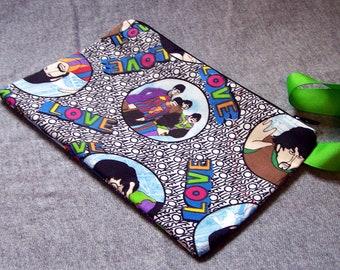 Beatles Love Wristlet Clutch Bag Purse Ready to Ship