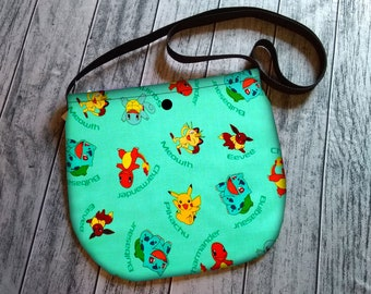 Pokemon Aqua Cross Body Unisex Bag Purse Tote Festival