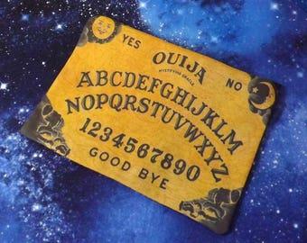 Ouija Board Poly Mesh Zipper Pouch Cosmetic Makeup Bag Halloween
