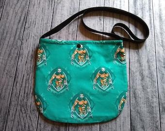 Aquaman Cross Body Unisex Bag Purse ToteFestival Ready to Ship