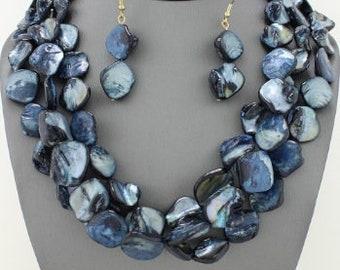 Multi-Strand Shell Necklace