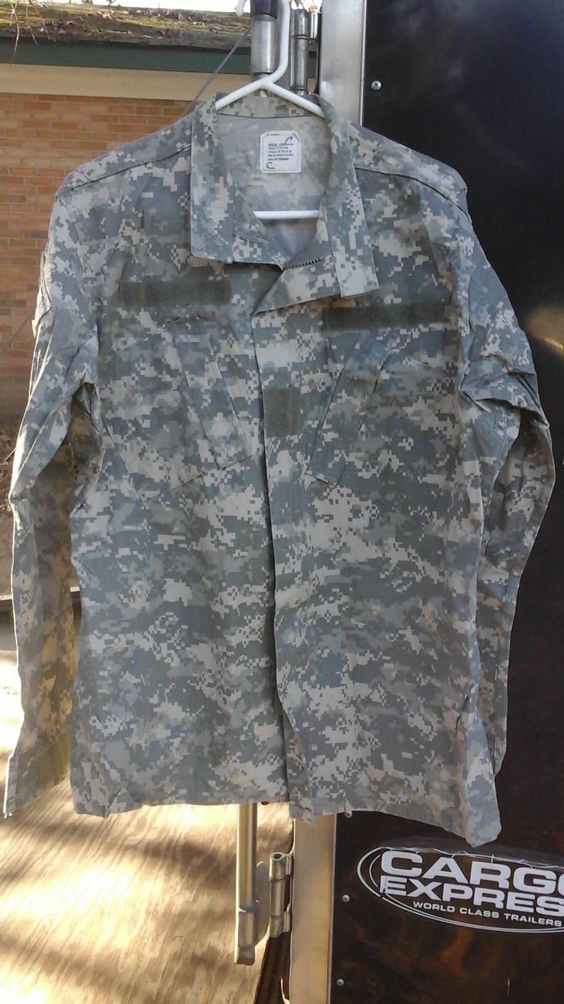 Acu uniform shirt sz Medium Long