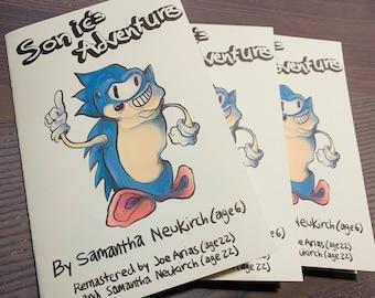 Sonic's Adventures Parody Zine