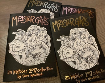 Monster Girls Art Zine