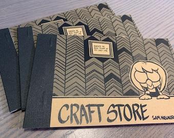 Craft Store - Mini Comic Zine