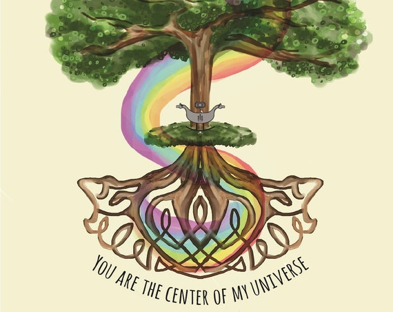 Center of your Universe