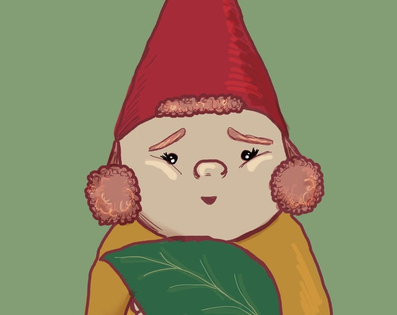 Leaf it Better than You Found it Nature Loving Gnome