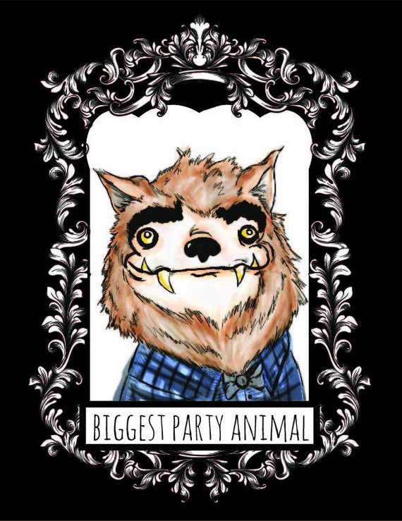 Party Animal Werewolf