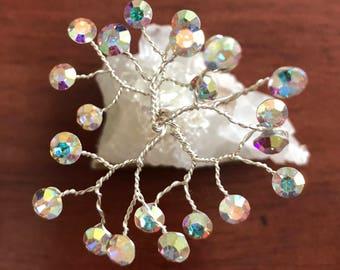 Swarovski Crystal AB Tree