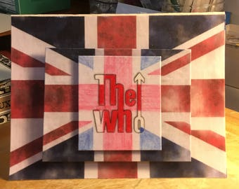 The Who (Decoupage/3D) Card