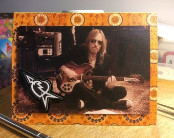 Tom Petty - Chilling Out (Decoupage/3D) Card