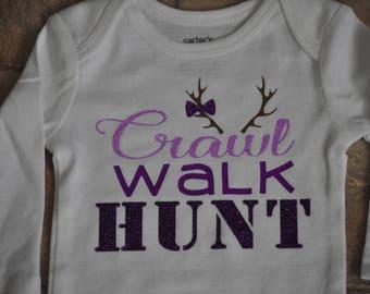 4137fcea Crawl Walk, Hunt Baby Girl, 3M