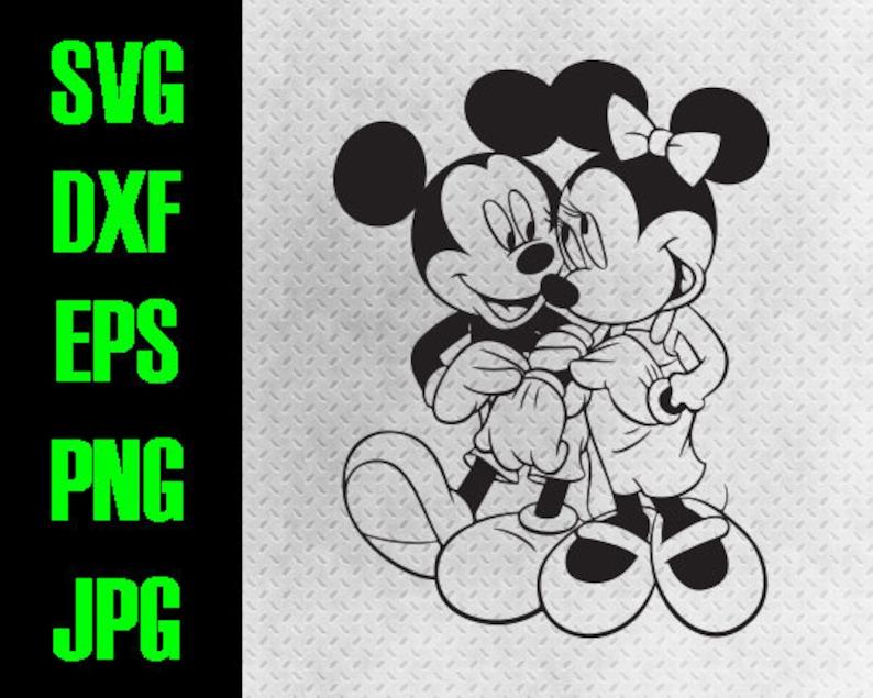 c6f840adfadd Mickey Minnie Love svg dxf eps png jpg cutting files
