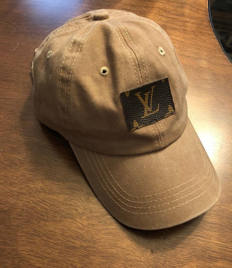 eb6881dad60 Custom Repurposed Louis Vuitton Baseball Cap