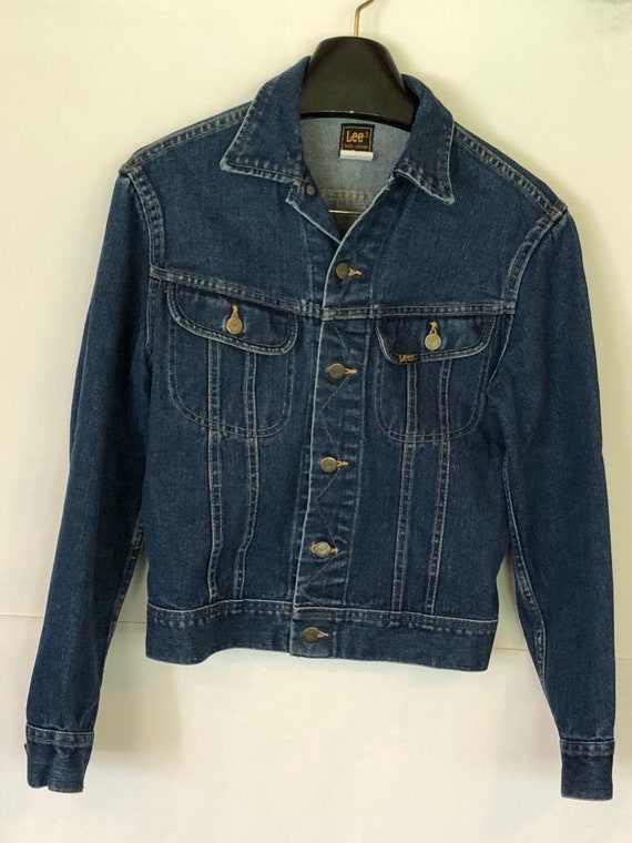 Vintage Lee denim jean jacket,PATD 153438 made in