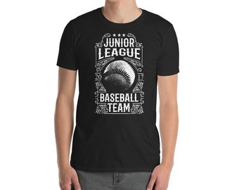 Junior league Baseball team Short-Sleeve Unisex T-Shirt