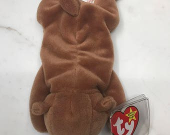 4cb64073ba9 Very Rare Retired ty CUBBIE Beanie Babies (MINT Condition...MAJOR Errors(S))