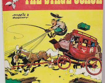 Vintage Book 1982 - Lucky Luke - The Stage Coach, Morris & Goscinny Hodder Dargaud