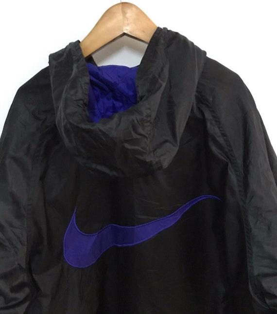 Vtg nike swoosh winter hoodie jacket - image 2