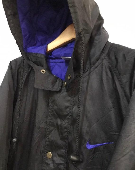 Vtg nike swoosh winter hoodie jacket - image 5