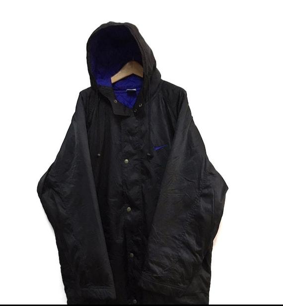 Vtg nike swoosh winter hoodie jacket - image 3
