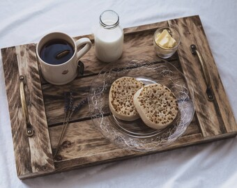 Reclaimed Wooden Serving Tray - Grace