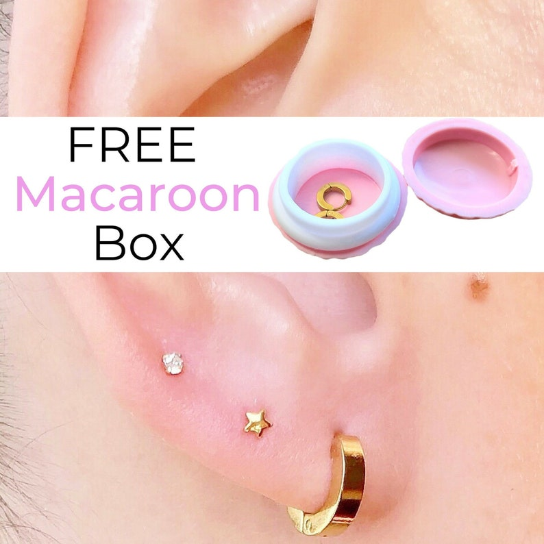 8267654ca81b9 Simple Hoop Earrings Thick Gold Hoops Minimal Earrings 18K Gold Hoops  Chunky Everyday Earrings Birthday Gift For Friend Simple Gold Earrings