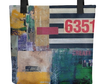 Most Wanted Modern Art Tote Bag