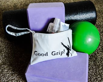 Hand-Painted Pole Grip Bag