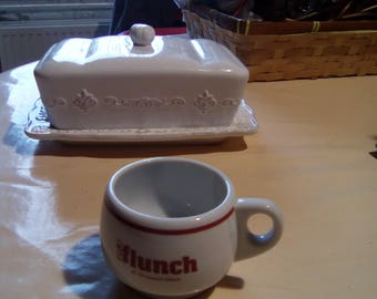 vintage porcelain collectible IHOP espresso coffee cup