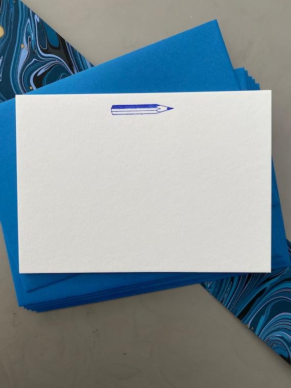 Pencil notecards