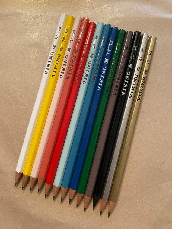 Blyanter i mange farver