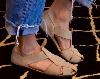 Vintage Strappy Sandals