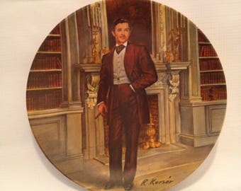 Rhett by Edwin M. Knowles China Plate