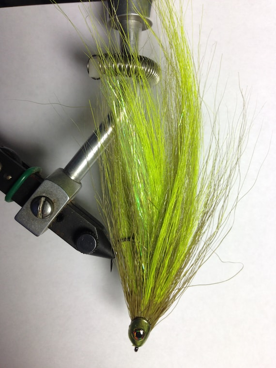 La truite citron vert/Olive/basse Streamer