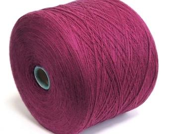 Royal Purple Recycled Lace Weight Merino Yarn MER00336