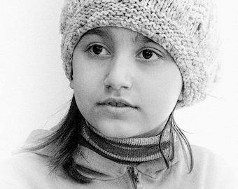 Syrian Refugee Children in B&W