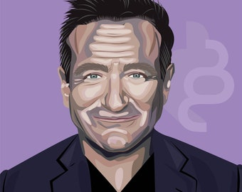 Robin Williams Print