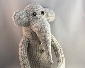 Eli the Sock Elephant