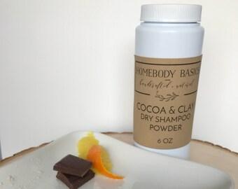 Cocoa and Clay Dry Shampoo Powder