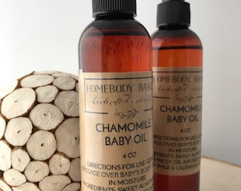 Chamomile Baby Oil