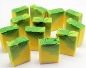 Cucumber Natural soap Real cucumber OMBRE ECO Cocoa Shea Coconut butter Olive oil Vitamin E Aloe Vera Vegan Skin Care Pure soap Moisturizing