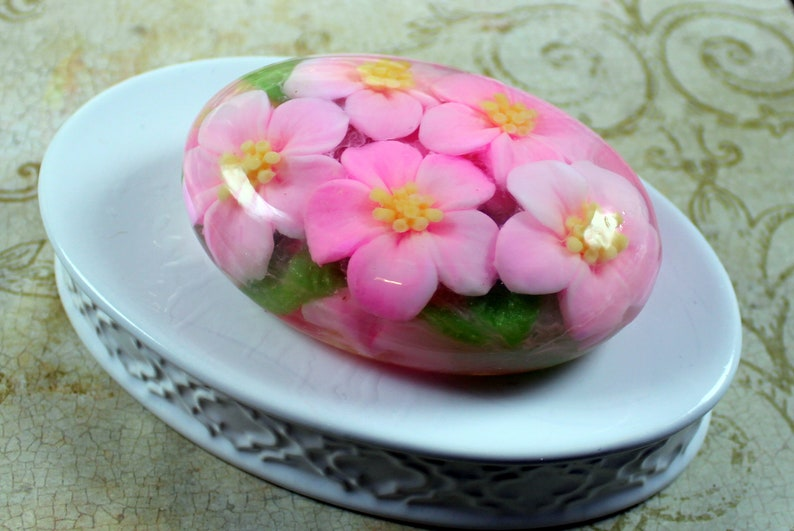 Flowers Soap Mothers Gift Birthday Thank You Idea