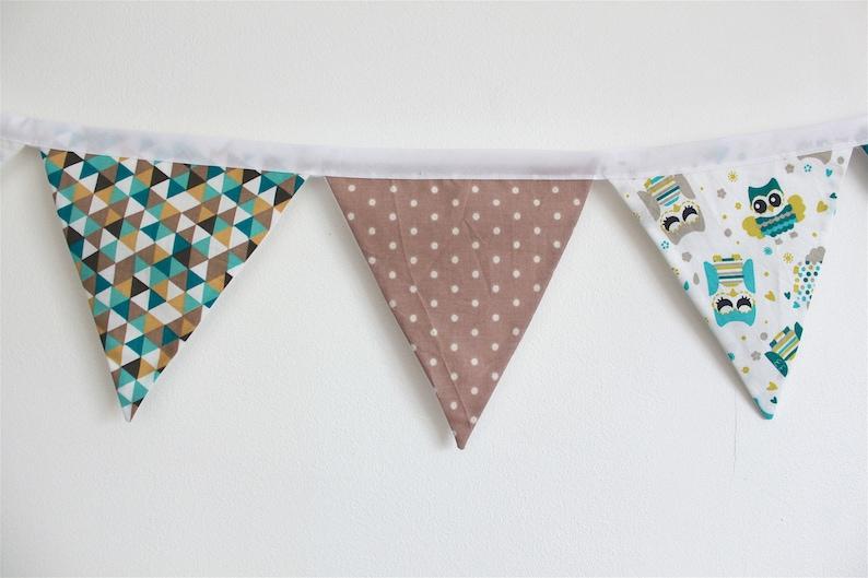 Guirlande fanions bébé décoration chambre enfant guirlande | Etsy