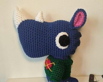 Custom Order Animal Crossing Inspired Crocheted Plush