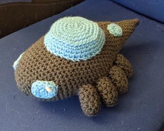 Crystal Lizard Crochet Plush