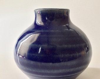 Cobalt blue bud vase #3