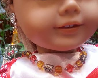 Doll Necklace American Girl 18 inch Doll Necklace
