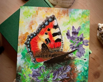 Butterfly Painting - Fantasy Print